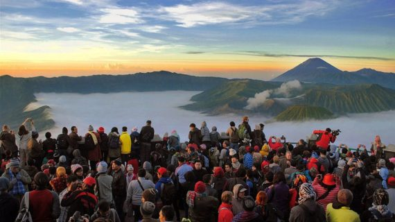 Wisata outbond Malang di Bromo
